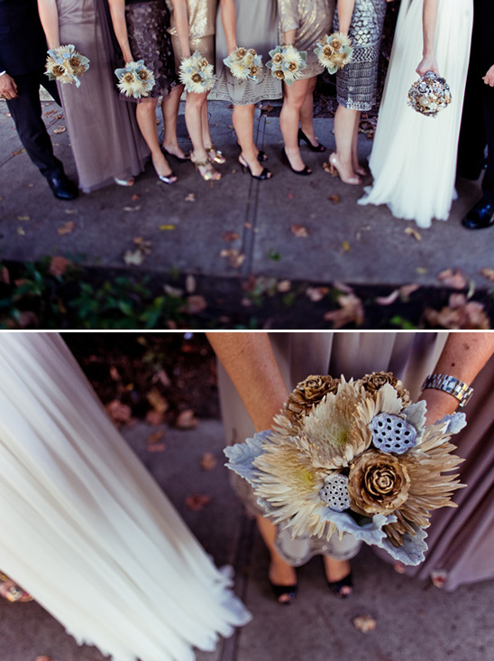 Metallic Wedding Ideas