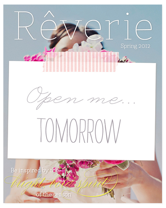Spring 2012 Issue Of Reverie Magazine