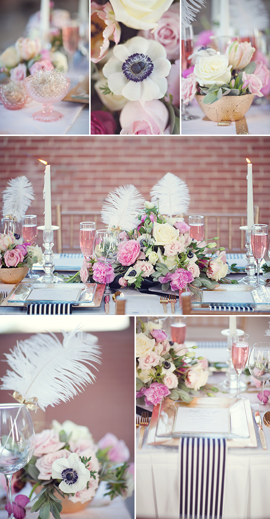 Gold And Black Wedding Ideas With A Splash Of Pink