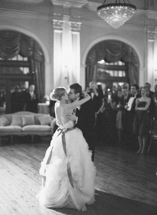 A beautiful first dance...