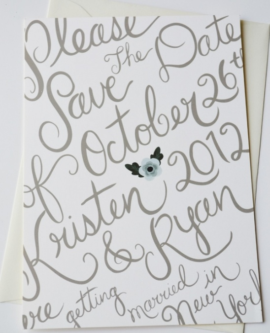 Delightfully Sweet Custom Save the Dates