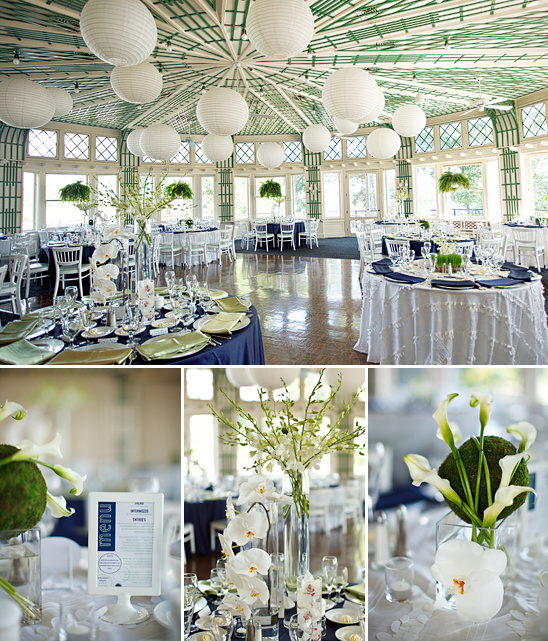 Green and Blue Wedding Ideas