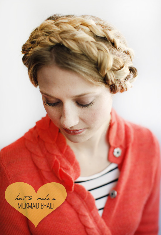 Hair Tutorial | How To Do A Milkmaid Braid