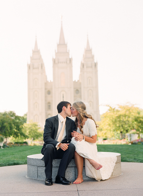 Salt Lake City Backyard Wedding