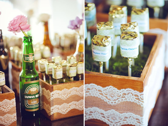 Vintage Chic Spring Time Wedding