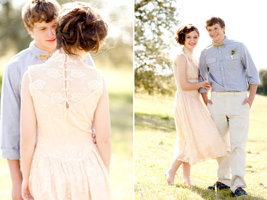 Soft Vintage Engagement Session