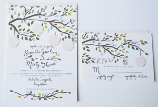 Vintage Garden Party Invite Suite