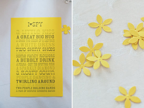 Homespun Yellow Wedding Ideas