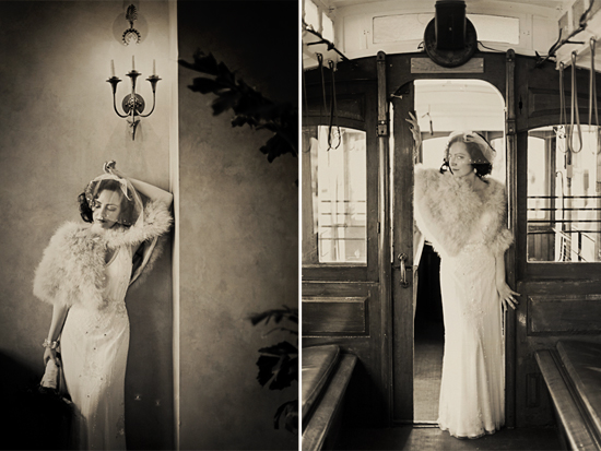 Vintage San Francisco Wedding