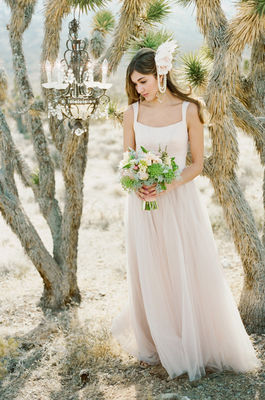 Desert Bridal Shoot