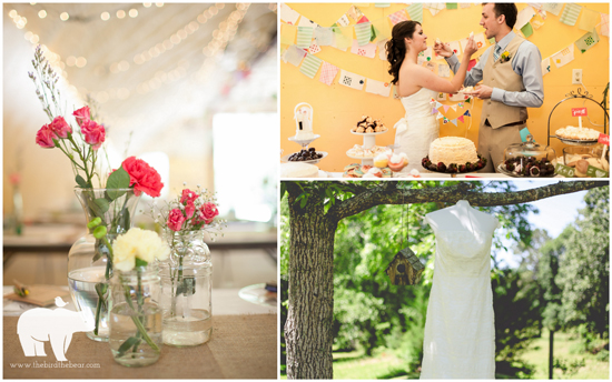 Colorful DIY Wedding by The Bird & The Bear | Photography & Films