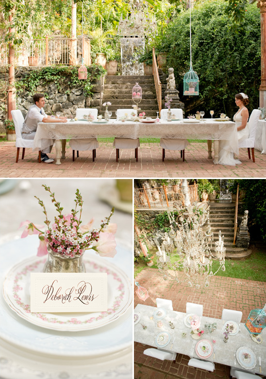 vintage garden wedding ideas at haiku mill - Garden Ideas Vintage