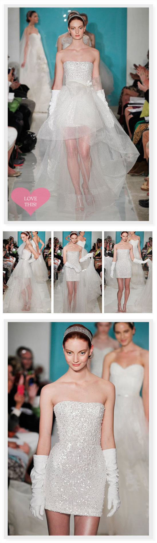 Reem Acra Spring 2013 Bridal Collection