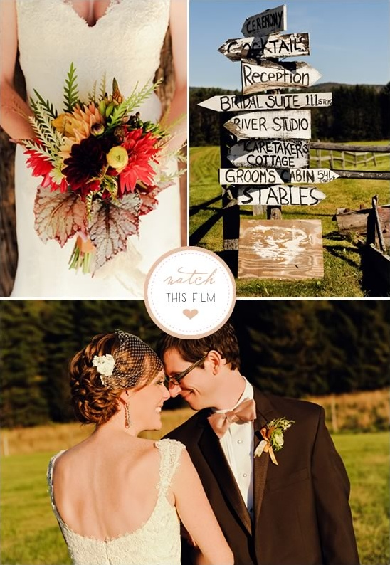 Hello Super 8 Rustic Vermont Wedding