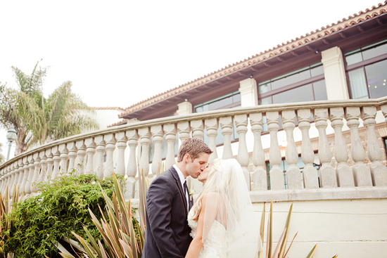 St. Monica Church / Bel Air Bay Club Wedding [Dave Richards Photography]