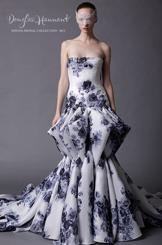 Douglas Hannant Spring 2013 Bridal Collection