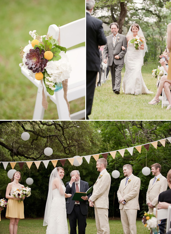 Crafty DIY Texas Wedding