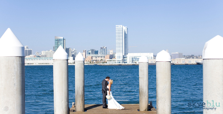 Wedding by the Bay: San Diego, California