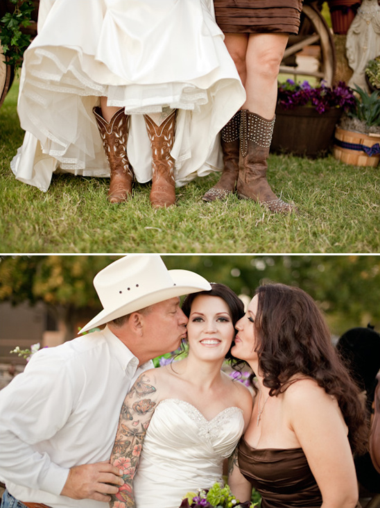 Eclectic Country Wedding