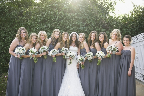 Grey And White Wedding Flowers Fl Designs By Christa Rose