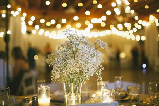 Grey and White Wedding Flowers | Floral Designs by Christa Rose