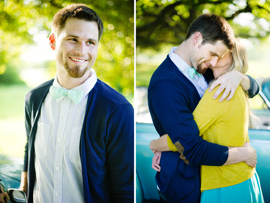 Spring Engagement Session From Squaresville Studios