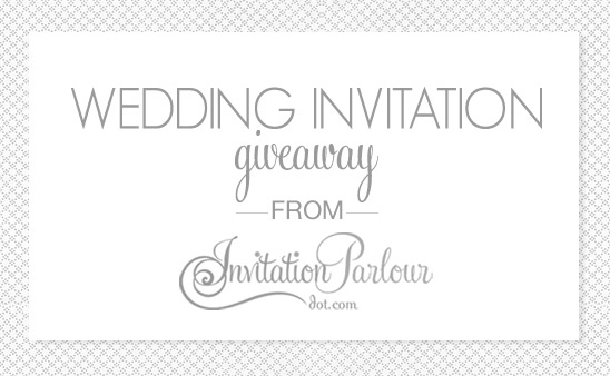 Win Free Wedding Invitations From Invitation Parlour