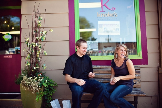 Candy Shoppe Engagement Session by Amy Rae Photography