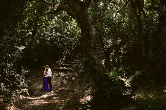 Engagement in the Woods by Kevin Le Vu Photography