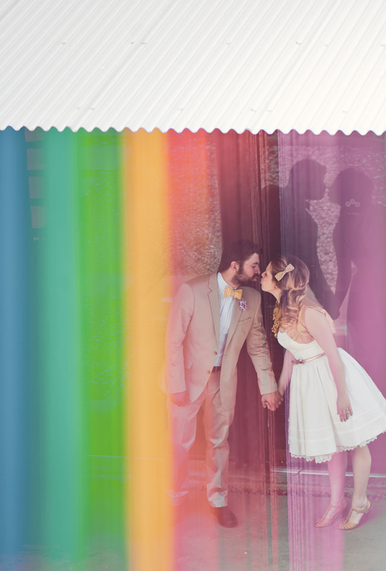 Rainbow wedding ideas junglespirit
