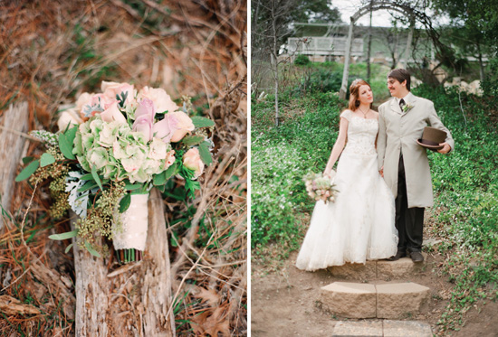 Storybook wedding at the Julian Meadow View Inn