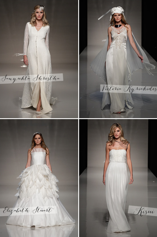 London Spring 2013 Bridal Collection