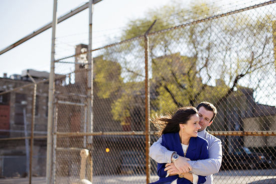 Modern Chicago Engagement Session