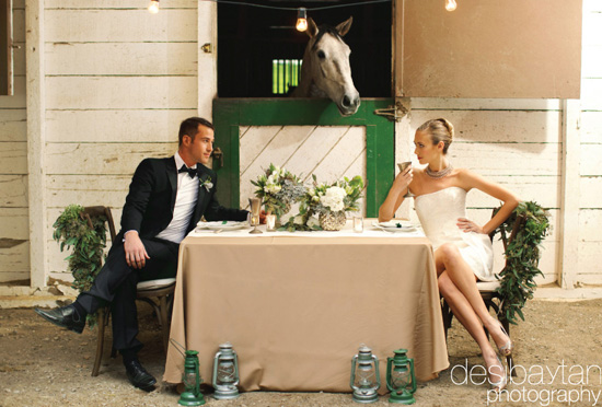 Town and Country Wedding Inspired Photo Shoot