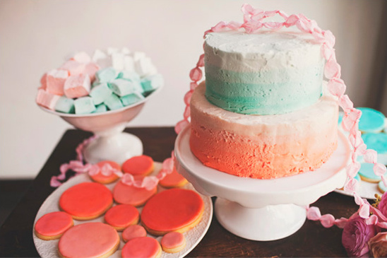 Colorful Engagement Party