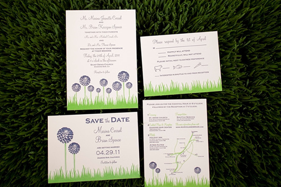 Navy Blue And Green Wedding Ideas