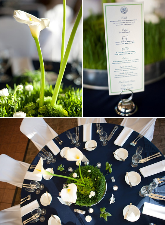 Navy blue and green wedding ideas for Navy blue wedding theme ideas