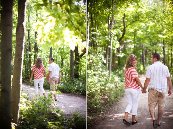 High Cliff State Park Engagement Session by Amy Rae Photography