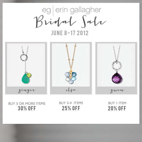 Erin Gallagher Bridal Sale