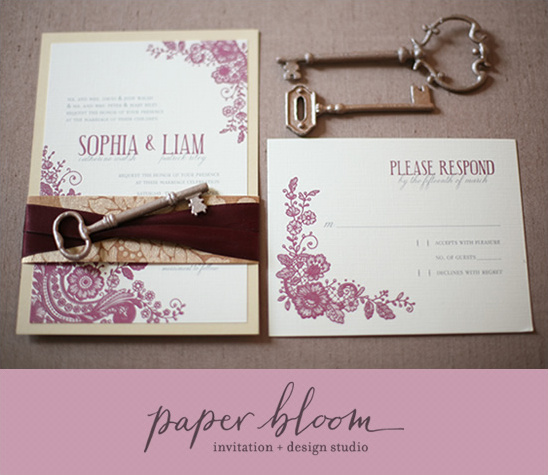 Paper Bloom Invitation & Design Studio
