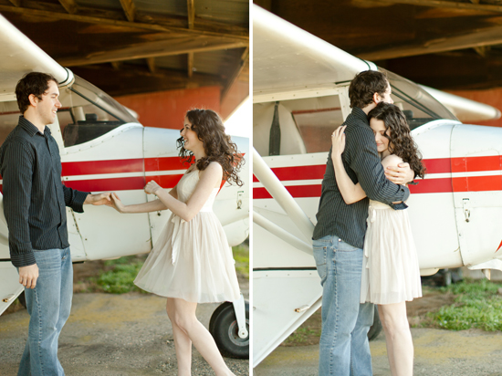 Travel Themed Engagement by Love By Serena