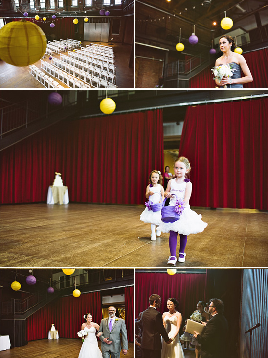 Purple and Yellow Wedding Ideas