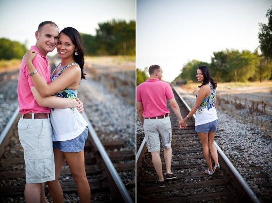 Evening Oklahoma Engagement Session by Amy Rae Photography