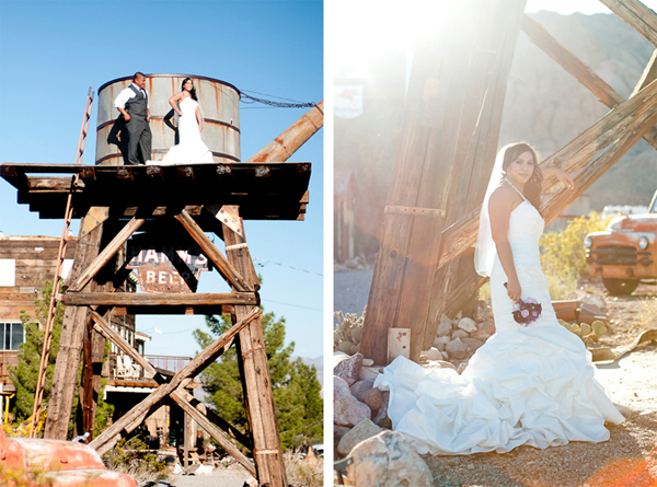 Rustic Trash the Dress Session