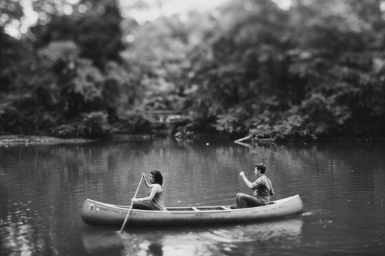 real love in a canoe