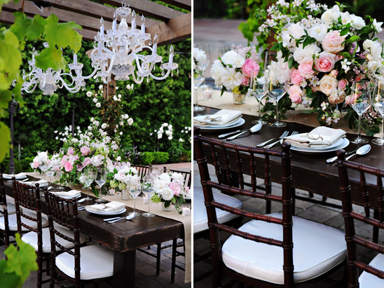 Glamorous And Elegant Backyard Wedding
