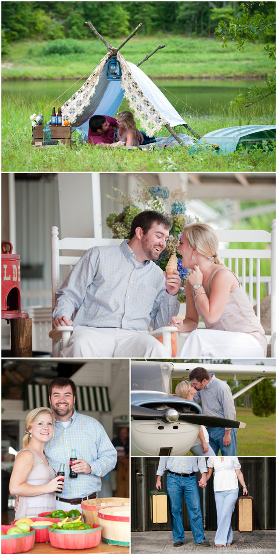 all things georgia engagement session