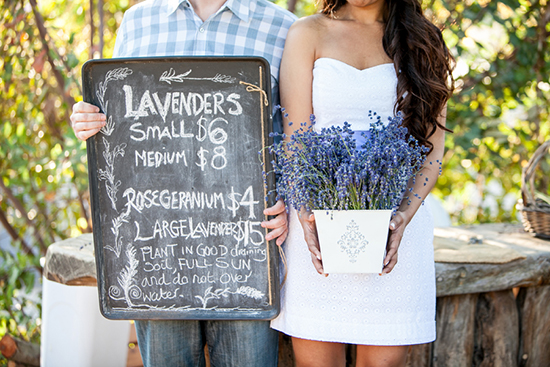 Lavender Farm Engagement, SherriJ Photography
