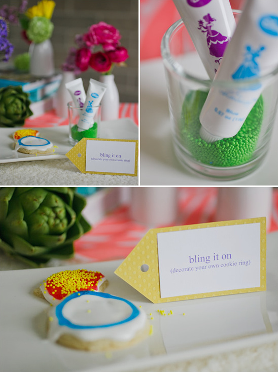 Easy Colorful Bridal Shower Ideas