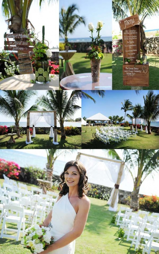 Rustic Chic Wedding in the Cayman Islands